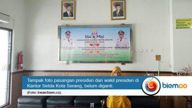Presma Untirta: Alasan Pemkot Belum Pasang Foto Presiden 'Lucu'