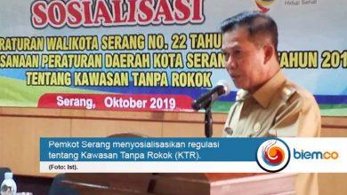 Photo of Kawasan Tanpa Rokok Resmi Berlaku di Kota Serang