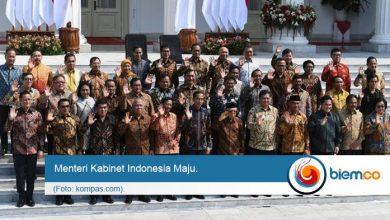 Photo of Resmi! Ini Susunan Menteri Kabinet Indonesia Maju