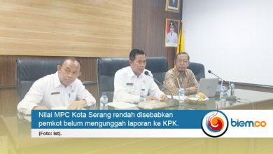 Photo of Nilai MPC Rendah, KPK Sambangi Pemkot Serang