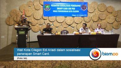Photo of Dishub Kota Cilegon Sosialisasikan Smart Card