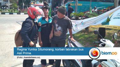 Photo of Bus Asli Prima Tabrak Pemotor Wanita di Serang