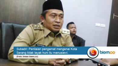 Tata Kota Serang Masih Terkendala RTRW