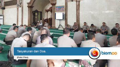 Photo of Usai pelantikan Presiden Polda Banten Gelar Tasyakuran dan Doa Bersama