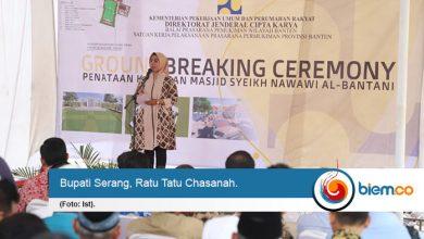 Tatu Inginkan Masjid Agung Tanara Jadi Pusat Kajian Islam