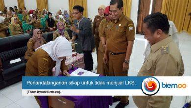 Giliran Kepsek SD se-Kota Serang Dipanggil Wakil Wali Kota Serang