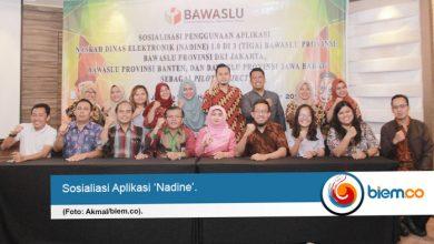Bawaslu Banten Jadi Salah Satu Pilot Project Aplikasi Nadine