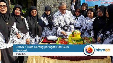 SMKN 1 Kota Serang Peringati Hari Guru Nasional ke-74