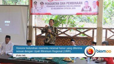 Honorer Kelurahan di Kota Serang Tuntut Kesejateraan