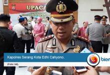 Perketat Keamanan, Polres Serang Kota Tambah Personel di Pintu Masuk