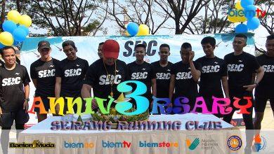Milad 3 Tahun Serang Running Club