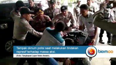 Photo of Unjuk Rasa di KP3B Berujung Aksi Pemukulan Terhadap Mahasiswa