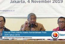 Photo of Meski Tidak Signifikan, Indeks Kemerdekaan Pers Indonesia Naik