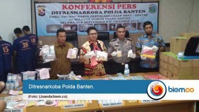 Ditresnarkoba Polda Banten