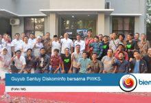 Diskominfo dan PWKS Jaga Silaturahmi Melalui 'Guyub Santuy'