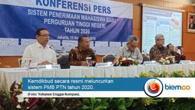 Photo of Kemdikbud Luncurkan Sistem PMB PTN Tahun 2020