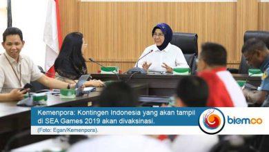 Photo of Jelang SEA Games 2019, Kontingen Indonesia Akan Divaksinasi