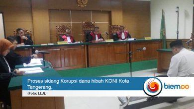 Korupsi Dana Hibah KONI Kota Tangerang, Dua Terdakwa Dituntut 6 Tahun Penjara