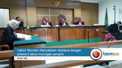Photo of Mantan Bendahara KONI Kota Tangerang Divonis 6 Tahun Penjara