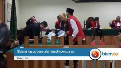 Gara-gara Mesin Pompa Air, Hadi Divonis Hakim PN Serang 9 Bulan Penjara