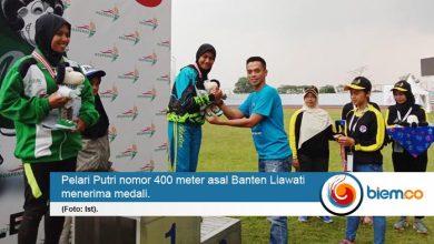 Photo of Pelari Putri 400 meter Asal Banten Sumbang Medali di Pospenas VIII Jawa Barat