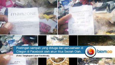 DLH Kota Serang Tanggapi Postingan Sampah yang Viral