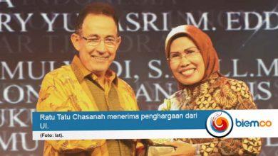 Bupati Serang Raih Penghargaan dari Universitas Indonesia