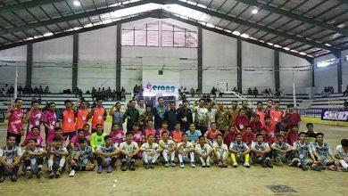 32 Tim Futsal Memperebutkan Piala Pelajar Kota Serang