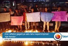 Photo of Mahasiswa Anggap Satu Tahun Kepemipinan 'Aje Kendor' Gagal dan 'Kendor'