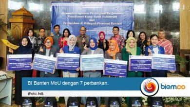 BI Banten Lakukan Perjanjian Kerjasama Penukaran Uang Dengan 7 Perbankan