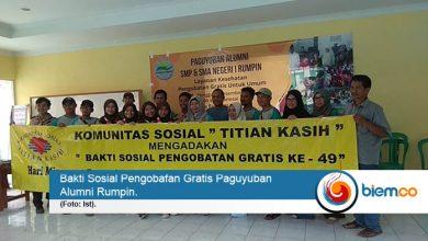 Photo of Paguyuban Alumni Rumpin Giat Pelayanan Kesehatan Gratis