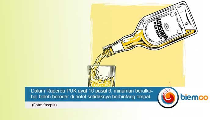 Raperda PUK: Di Kota Serang Boleh Beredar Minuman Beralkohol