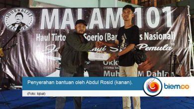 Photo of Journalist Lecture Community Galang Dana untuk Lebak