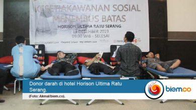 Menyambut HKSN, Horison Ultima Ratu Serang Helat Donor Darah
