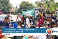 IKA dan HMTL Unbaja Salurkan 80 Ribu Liter Air Bersih