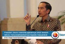 Photo of Sebelum Diajukan ke DPR, Jokowi Minta Rancangan Omnibus Law Disosialisasikan