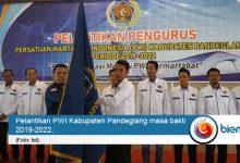 Photo of Pengurus PWI Pandeglang Masa Bakti 2019-2022 Dilantik