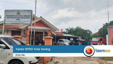 Galang Dana Untuk Korban Banjir Lebak, BPBD Kota Serang Kelilingi OPD