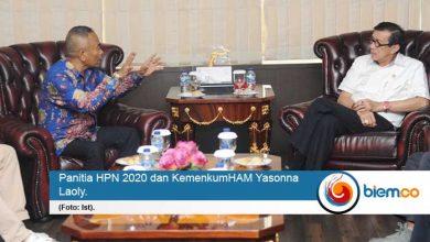 Panitia Pusat HPN 2020 Minta Yasonna Laoly Jadi Pembicara di Konvensi Media Massa