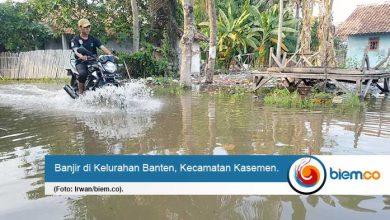 Klaim Kota Serang Bebas Banjir Tak Terbukti, Kecamatan Kasemen Banjir