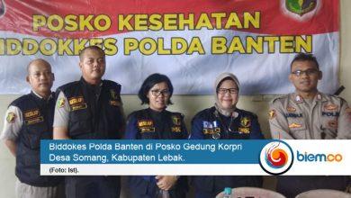 Photo of Biddokes Polda Banten Giat Pelayanan Kesehatan di Posko Pengungsian