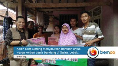 Photo of Kadin Kota Serang Salurkan Bantuan Sembako di Sajira