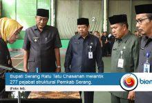 Photo of Bupati Serang Minta Pemerintah Kecamatan Siaga Bencana
