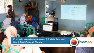 RS Mata Achmad Wardi BWI-Dompet Dhuafa Berikan Edukasi Tentang Katarak