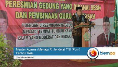 Photo of Menag Fachrul Razi Sebut Madrasah Jadi Sekolah Favorit