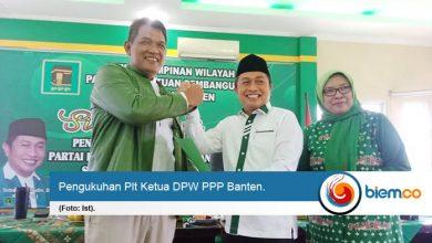 Resmi Dikukuhkan Sebagai Plt Ketua DPW PPP Banten, Subadri Susun Strategi Hadapi Pilkada Serentak