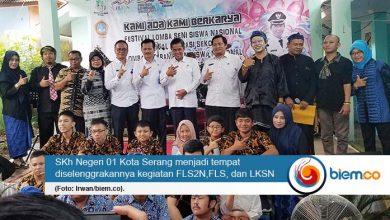 Sekolah Khusus se-Kota Serang Gelar FLS2N, FLS, dan LKSN