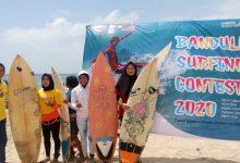Photo of 80 Peselancar Ramaikan Bandulu Surfing Contest 2020