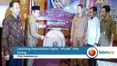 Launching ePusda Diapresiasi Wakil Wali Kota Serang
