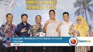 Kunjungi KI, Sekretariat DPRD Banten Siap Wujudkan Keterbukaan Informasi Publik